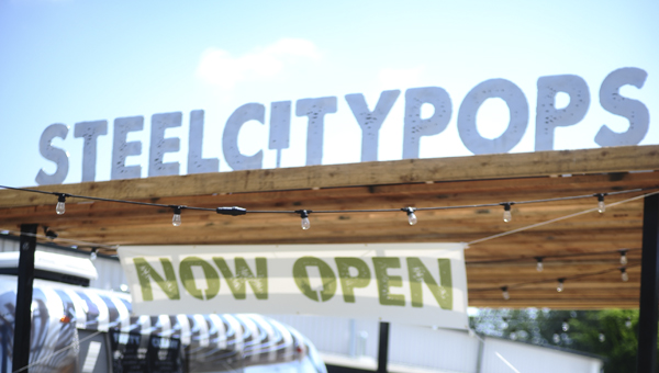 Steel City Pops opened its first Shelby County location May 19. (Reporter Photo/Jon Goering)