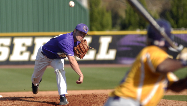 The University of Montevallo baseball team, the No. 7 seed in the Peach Belt Conference tournament, will face No. 2 seed Columbus State University in the quarterfinals Saturday, May 10 at Roberto Hernandez Stadium in Aiken, S.C.  (Reporter Photo/Drew Granthum)