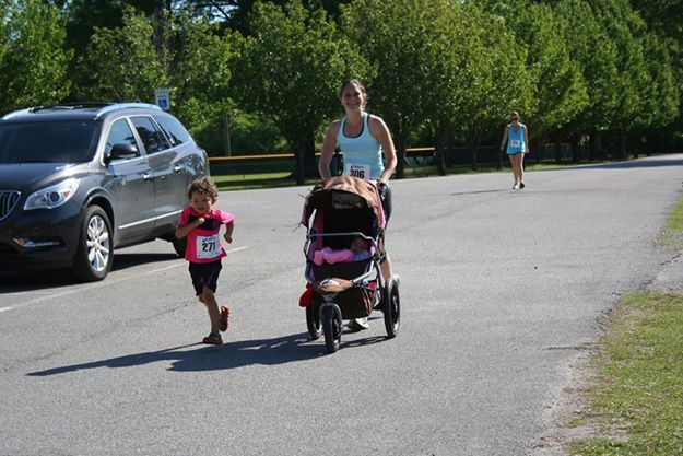 Runners of all ages participated in the first annual Strawberry Festival 5k. (Contributed)