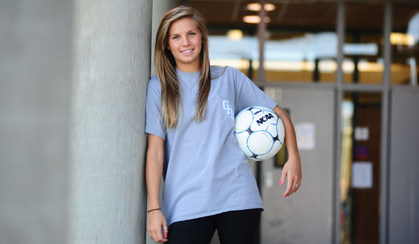 Britne Holderby is planning to continue her soccer career at Penn State University after a stellar tenure at Chelsea High School. (Reporter Photo/Jon Goering)