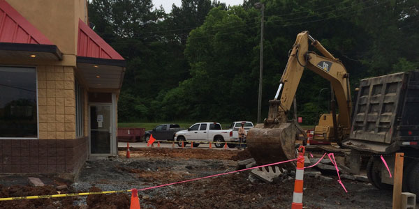 Renovations begun Memorial Day weekend at Jack's in Harpersville. (Contributed)
