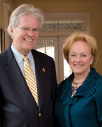 MIchael and Donna Grainger pledged $500,000 to the Michael E. Stephens College of Business at the University of Montevallo to fund the first academic endowed chair in the university's history (contributed).