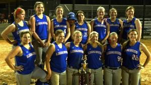 The Alabama Bruisers 18U softball team. (Contributed)