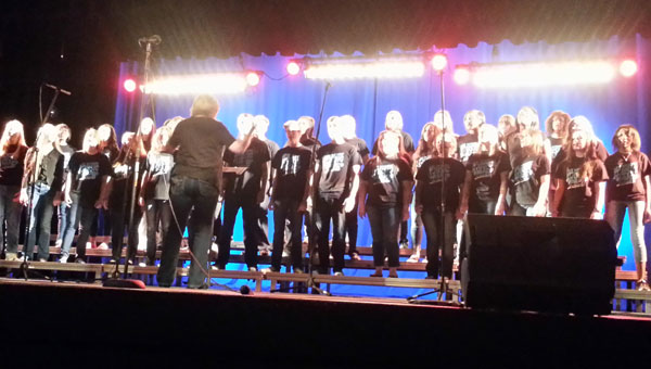 The Chelsea High School choirs are directed by Mrs. Kay Dick. (Contributed)