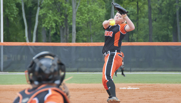 For Alabaster native and Thompson High alum Taylor Powell, the dream came true May 29, as Powell helped pitch the Auburn-Montgomery Warhawks to the NAIA National Championship in softball. (Contributed/Auburn-Montgomery)