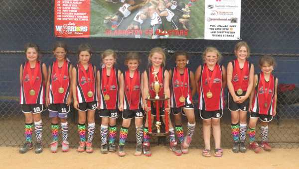 The Alabaster 6U All-Stars softball team is one of those teams, and is defying the odds in pursuit of a title. Alabaster 6U is in the midst of battling for a USSSA Alabama State Championship, but may have faced its toughest challenge yet: Simply making the tournament. (Contributed)