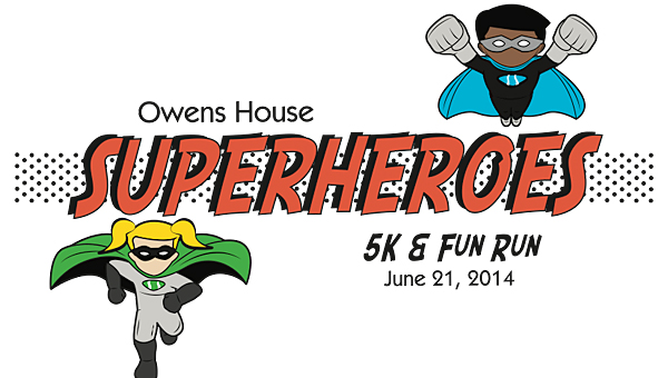 The Owens House Superheroes Run will be on June 21 at Veterans Park in Hoover. (Contributed)