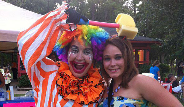 Lorna Davis and Katie Martin Akl at last year's My Sister's Place carnival. (Contributed)