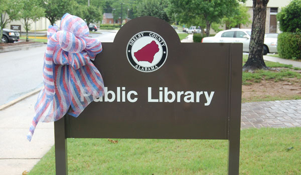 The Columbiana Public Library celebrated recent renovations at a June 10 ribbon cutting. (Ginny Cooper/For the Reporter)