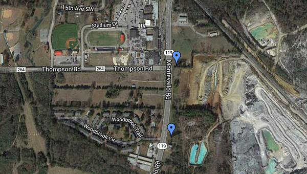 The Alabaster CDA and City Council took steps toward developing land along Alabama 119 during a pair of recent meetings. (Contributed)