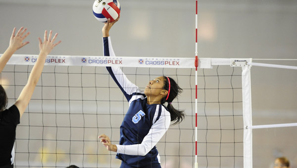 Young athletes looking to improve their skill at the sport of volleyball will have the opportunity to learn at the Calera Eagles Summer Camp, held July 22-24 at Calera High School. (FILE)