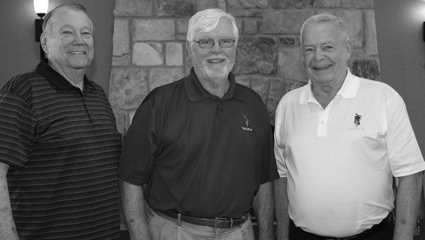 Ken Holler, Bob Cupp and Bobby Hayes were there at the beginning of Pelham's Ballantrae Golf Club. (Contributed)
