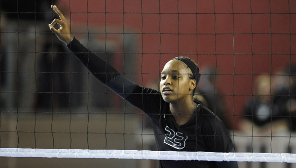 Thompson's Kelsea Bivins is an outside hitter for the South team in AHSAA All-Star Week, held July 21-25 in Montgomery. (FILE)