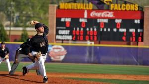 University of Montevallo baseball Devon Davis. (Contributed/University of Montevallo)