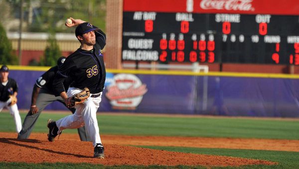 University of Montevallo baseball alumni Will Fulmer and Devon Davis (pictured) recently earned promotions in the first month with their respective professional baseball organizations. (Contributed/University of Montevallo)