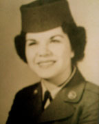 Jane Belcher after completing Basic Training at Lackland Air Force Base in 1954. (Contributed)