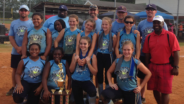 The Calera 12u Softball All-Stars team has been on a roll lately, to say the least, but the success comes at a price — literally. The team's bats have out swung its competition and possibly its budget. (Contributed)