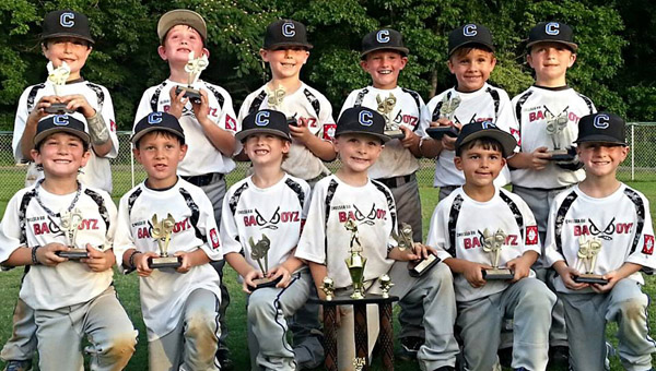 The Chelsea Bad Boyz have mowed an undefeated trail of victories over the course of the past four weeks as they prepare for the state tournament beginning July 11 in Gardendale. (Contributed)