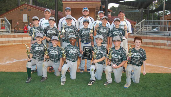 Pelham's 11U All-Star Team won the 2014 Birmingham Metro Baseball All-Star tournament June 22.  Pelham defeated Trussville in the championship game 8-4 to win the annual tournament. (Contributed)