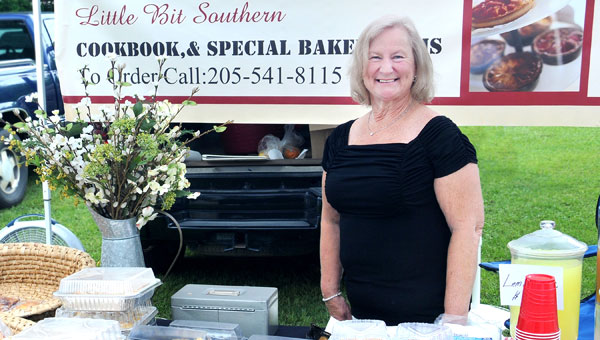 Patsy Tidwell penned her own cookbook, and is a regular at Helena's Market Days. (Contributed)