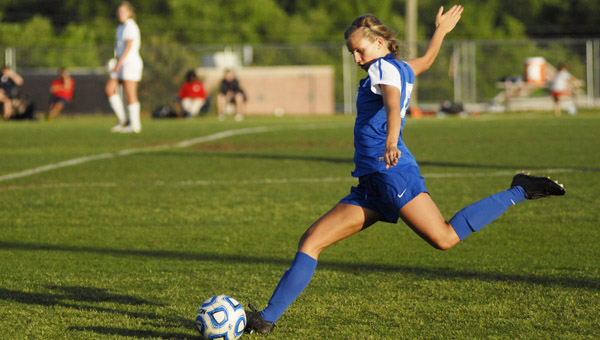 Chelsea's Britne Holderby is the 2014 All-County Player of the Year for girls soccer. (Reporter Photo/Drew Granthum)