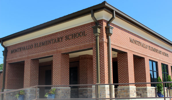 Montevallo Elementary and High School both underwent significant changes, which will be complete by the beginning of the school year. (Contributed)