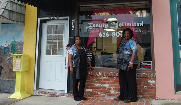 Beauty Unlimited opened on July 1 (Reporter Photo/Ginny Cooper McCarley)