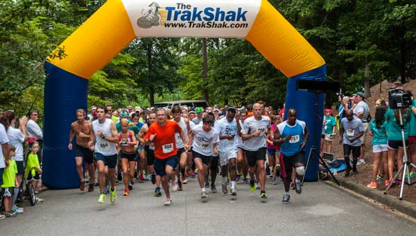 The 10th Annual Save the Os 5k and One-Mile Fun Run and Silent Auction will be Aug. 16 at Greystone Golf and Country Club. (Contributed photo.)