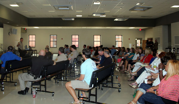 The Shelby County School District partnered with the Shelby County Sheriff's Department to provide an active shooter training workshop for school resource officers, administers and teachers. (Contributed)
