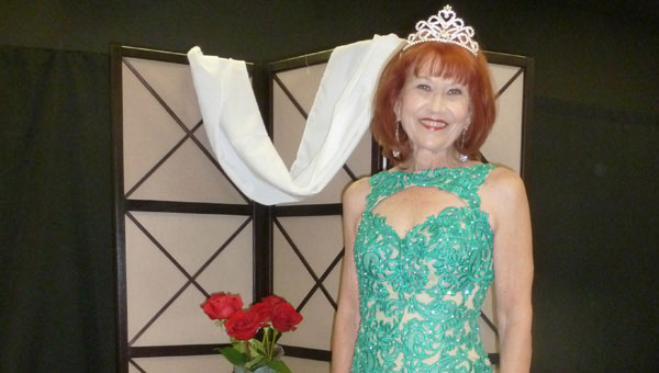 Ms. Senior Heart of Dixie Edna Sealy of Shelby County competes at Ms. Senior Alabama Aug. 9, 2014 at Wallace State College in Hanceville. (Contributed)