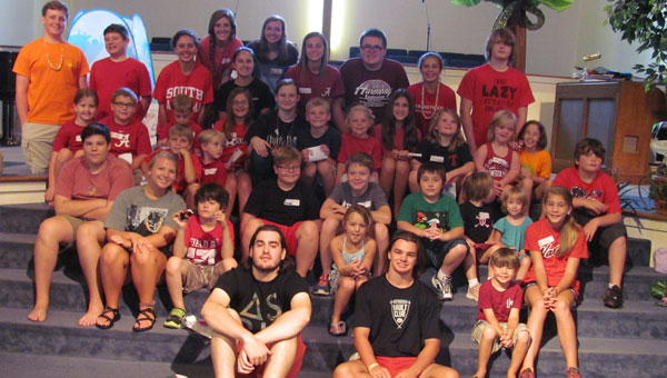 Kids and teens recently enjoyed vacation Bible school at the First Presbyterian Church of Alabaster. (Contributed)