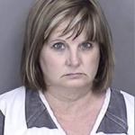 A 52-year-old Warrior woman is being held in the Shelby County Jail on bonds totaling $300,000 after she was charged with allegedly embezzling more than $200,000 from her Hoover employer.
