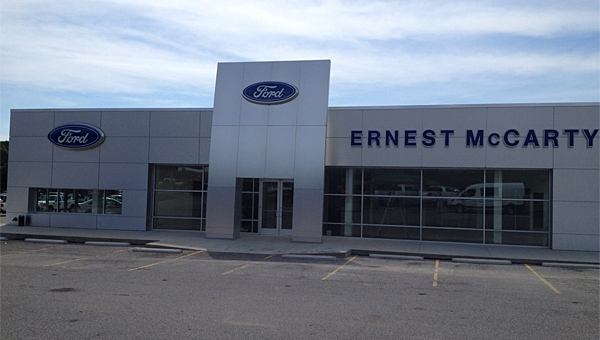Ernest McCarty Ford in Alabaster will celebrate its grand reopening on Aug. 23. (Contributed)