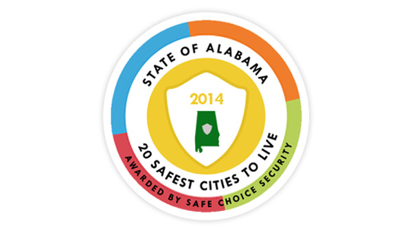 """Helena, Alabaster, Calera and Hoover were all named to Safe Choice Security's """"Safest Cities in Alabama"""" list. (Contributed)"""