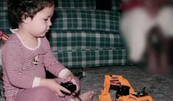 Will Gibson's winning video featured pictures of Gibson as a child playing with cars as well as reasons he should be awarded the scholarship. (Contributed)