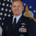 Air Force colonel Chris Stricklin. CONTRIBUTED