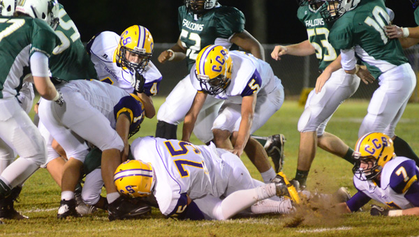 The Cornerstone Christian Chargers have been one of the suprises of the 2014 football season, tripling their win total from last year just five games into the season. (FILE)