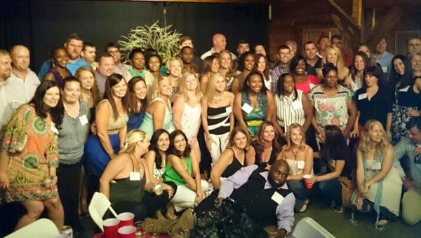 The THS class of 1994 recently celebrated their 20th reunion. (Contributed)