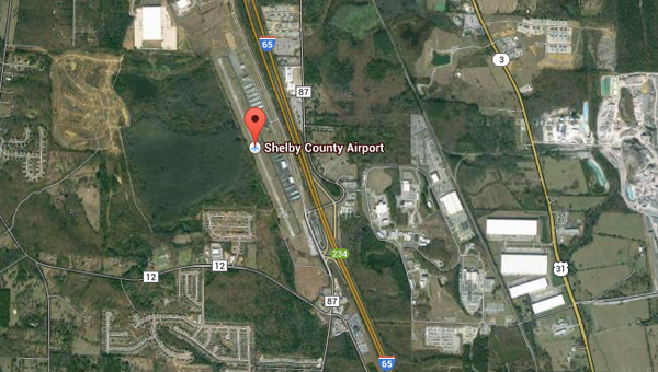 No injuries were reported after a plane landed gear-up at the Shelby County Airport on Sept. 18. (Contributed)