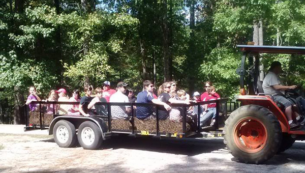 The fourth annual Fall Festival on Oct. 4 at Oak Mountain State Park will feature hayrides, bobbing for apples and other family-friendly activities. (Contributed)