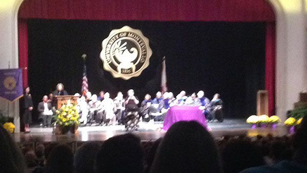 The 118th Founders' Day took place at the University of Montevallo on Thursday, Oct. 9 (Reporter Photo/Staff Writer)