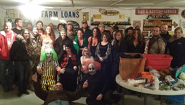 Group photo of the staff at Hellbilly Hollow. Hellbilly Hollow opens at 7 p.m. on Friday and Saturday nights in October and runs through Halloween night. (Contributed)