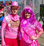 Pink Out King and Queen