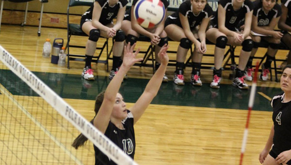 Pelham's Emily Jackson finished with 50 assists in the AHSAA Class 6A, Area 8 finals. (Contributed)