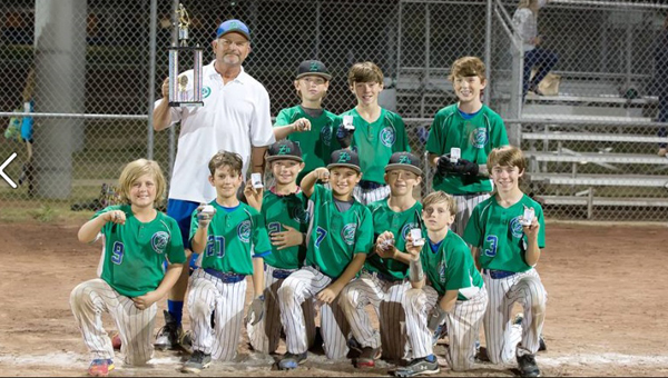 The Green Z's Diamond Club 12-and-under captured the USSSA championship. The team is made up of boys from Pelham, Oak Mountain, and Spain Park. (Contributed)