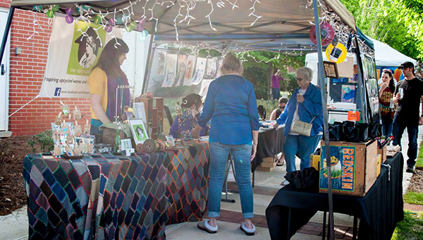 The city of Montevallo will host the third annual Artwalk Saturday, Oct. 25 from 3-7 p.m. (Contributed)
