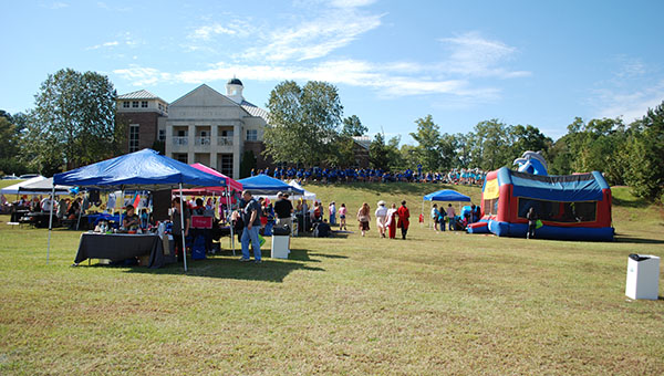Chelsea City Hall was the site of the fifth annual Chelsea Day held on Saurday, Oct. 18. (Reporter Photo/Graham Brooks)