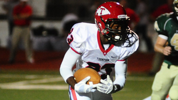 The Thompson Warriors came up short in a contest with Vestavia Hills Oct. 3. (FILE)