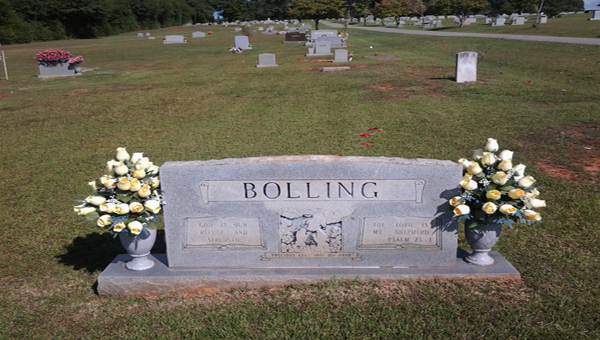 This is the family plot where flowers have been stolen multiple times since 1988. (Contributed)