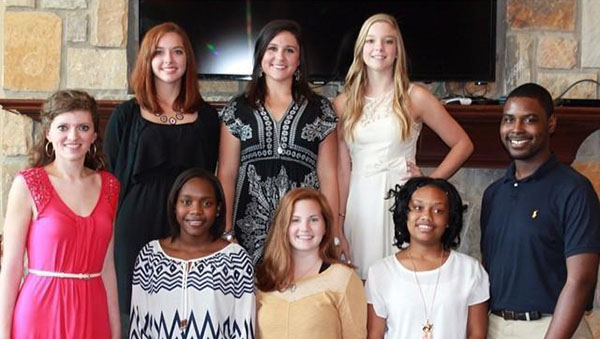 Pictured are the current students who serve on the Calera Junior Chamber of Commerce. (Contributed)